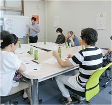 写真1:ランチェスター戦略を使った中小企業の社長の為の経営塾
