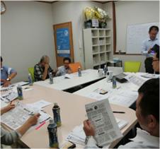 写真4:ランチェスター戦略を使った中小企業の社長の為の経営塾