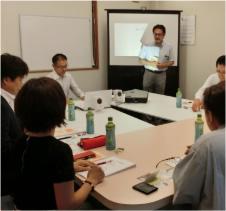 写真6:ランチェスター戦略を使った中小企業の社長の為の経営塾